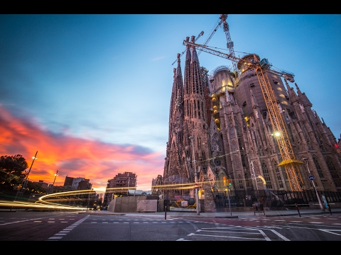Epic Photography at Sagrada Familia in Barcelona
