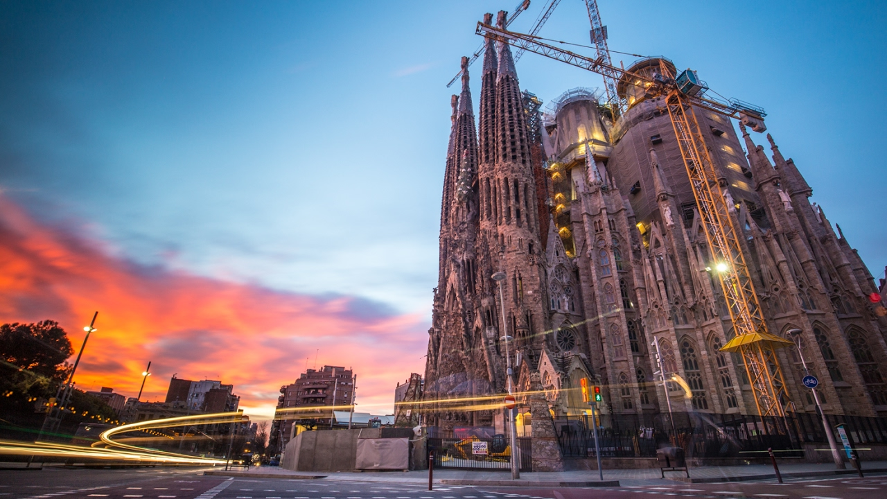 Epic Photography At Sagrada Familia In Barcelona Youtube