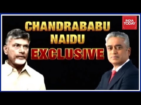 Centre Betrayed Andhra Pradesh :Chandrababu Naidu Exclusive Interview