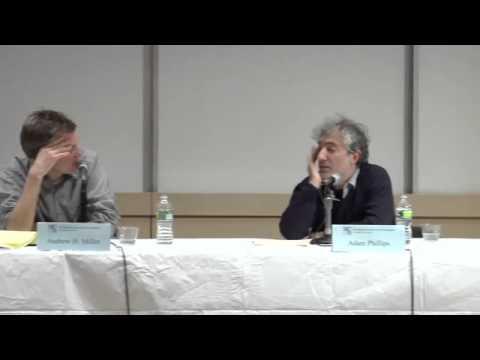 Adam Phillips in conversation with Andrew Miller