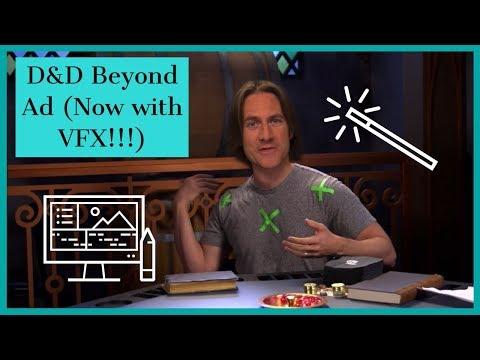 Sam Riegel's VFX D&D Beyond ad Now with VFX!