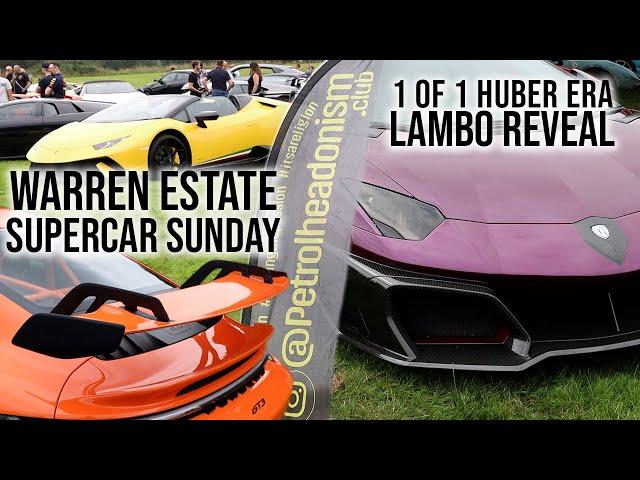 1 of 1 HUBER ERA Aventador & Fabio Lamborghini Unveiling   Petrolheadonism Supercar Sunday