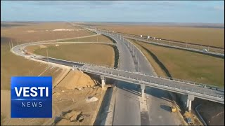 New Year's Present For Crimea: New Stretch of Tavrida Highway Opened to Traffic Today