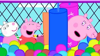Peppa Pig Full Episodes | Soft Play | Cartoons for Children