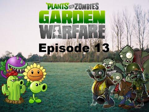 Plants Vs Zombies Garden Warfare Plush Series Episode 13 Engineer Youtube