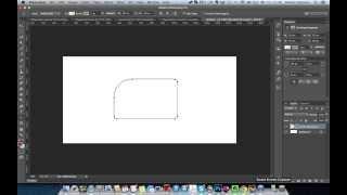 WDI PS. Базовые инструменты Photoshop. - Урок 02: Как поменять радиус отдельного угла прямоугольника