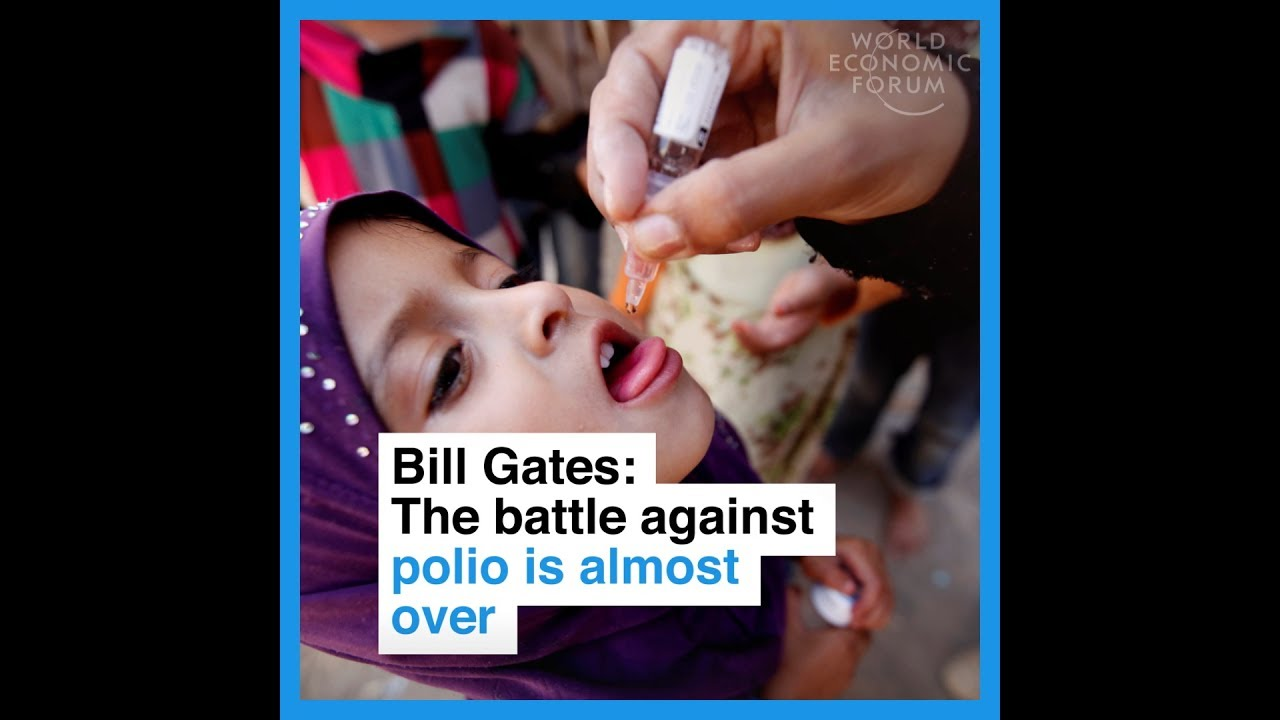 Bill Gates   The battle against polio is almost over