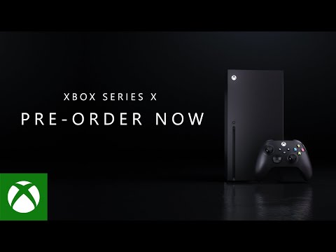 Xbox Series X - Power Your Preorder