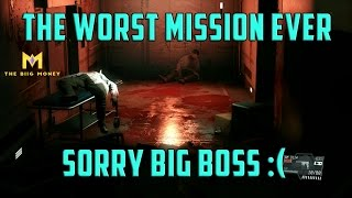 Metal Gear Solid 5: Phantom Pain - The WORST Decision Ever :( Mission 43