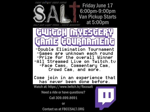S.A.L.T. Mystery Game Tournament