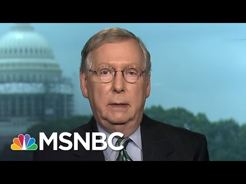Mitch McConnell: Donald Trump's Attack On Judge Doesn't Serve Him Well | Andrea Mitchell | MSNBC