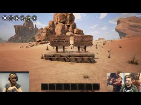 Friday afternoon Conan Exiles stream