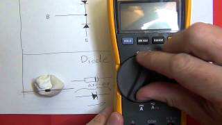 How to test a transistor and diode.