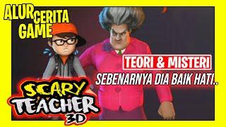 Cerita Sebenarnya Dibalik Game Scary Teacher 3D | Dibalik guru yang jahat ternyata baik hati..