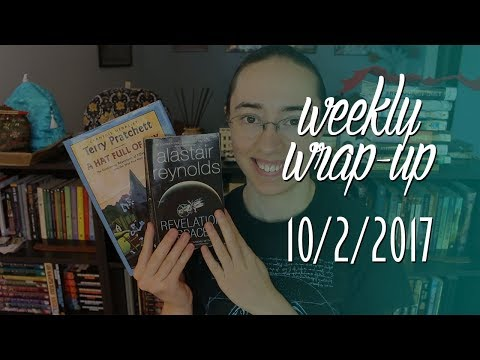Weekly Wrap-Up | October 22, 2017 #booktubesff