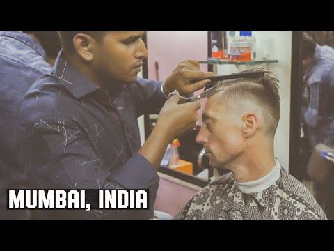 Dharavi Slum Mumbai India Skin Fade Barber Experience