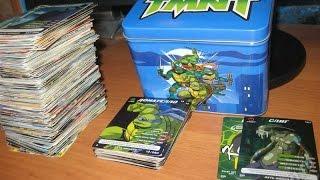 Обзор полной коллекции карточек черепашек ниндзя, почти 1000 карточек!!!?