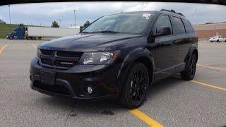 2014 Black Dodge Journey SXT Blacktop Newmarket Ontario | MacIver Dodge Jeep