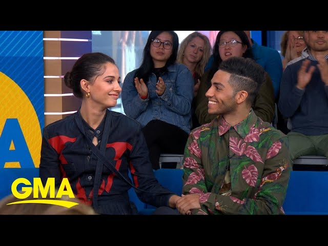 The stars of Aladdin talk about working with Will Smith l GMA