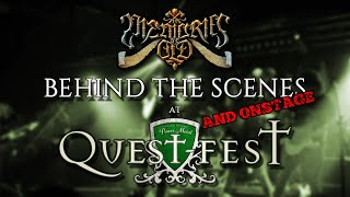 Memories Of Old - Backstage (and Onstage) @ Quest Fest 2019