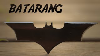 How to Make the Batarang (Batman Shuriken)