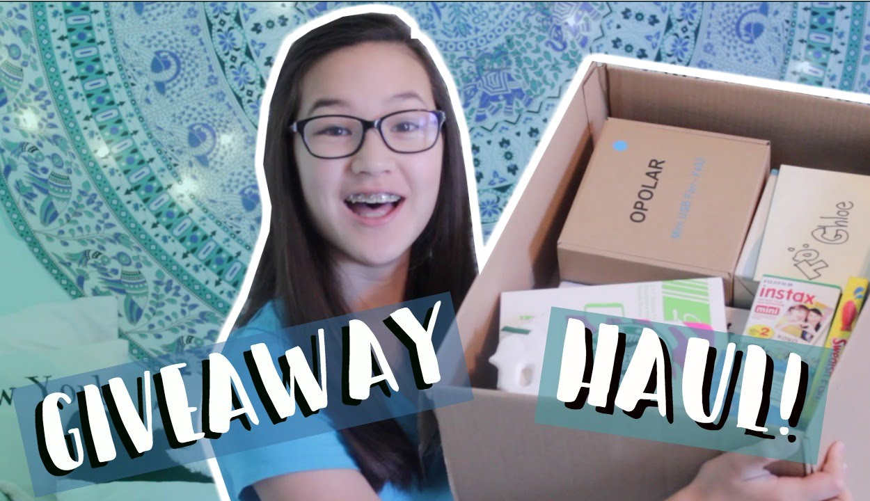 I Won A Giveaway? || Chloe Anne - YouTube