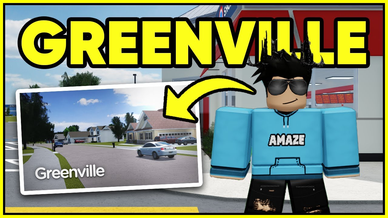 Playing Roblox *GREENVILLE* for the first time... (Roblox Greenville)