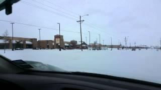 Heavy Snow Storm In Lubbock Texas 2015