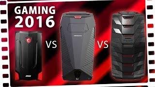 Die BESTEN Gaming-PCs 2016 ?! (MSI/ACER/MEDION)
