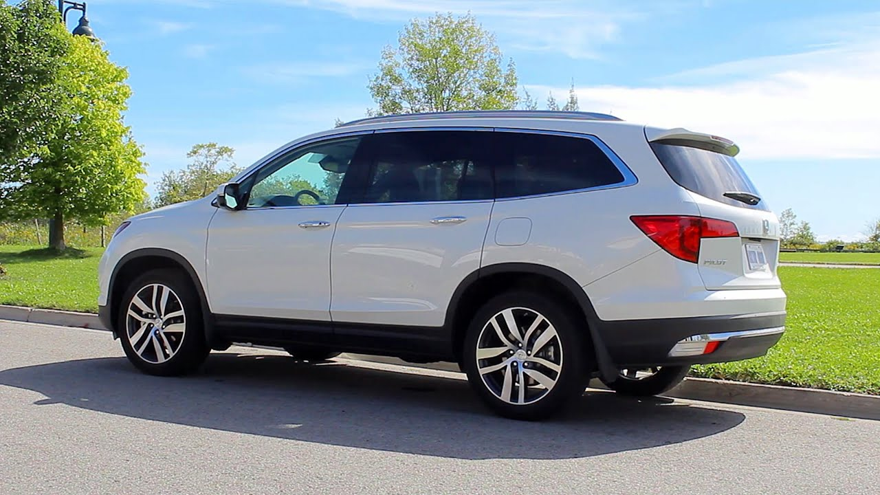 2016 honda pilot test drive review youtube. Black Bedroom Furniture Sets. Home Design Ideas