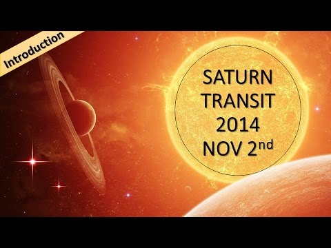 Saturn Transit effect up to January 2017 : Just the Intro