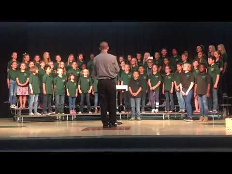 Black Forest Hills Elementary School Spring 2018 Choir & Percussion Performance