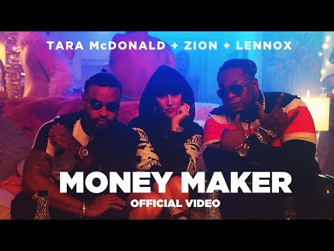 Смотреть клип Tara Mcdonald Feat. Zion & Lennox - Money Maker