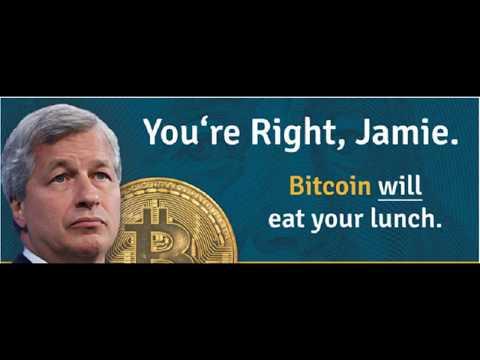 "Jamie Dimon ""Bitcoins is a fraud"" = Savage Rekt!"