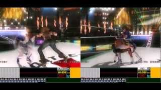 DEAD OR ALIVE 5 GamePlay Analisys X360 vs PS3