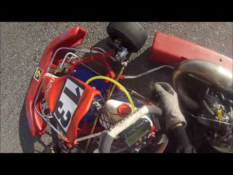 Kiriazis #13 CJKC @Grand Junction '15  - CR125 Shifter Kart - Qualifying