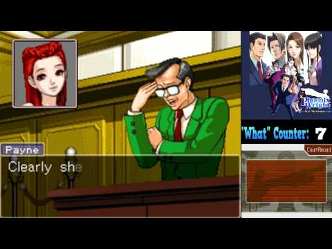 Phoenix Wright: Trials And Tribulations (Blind)