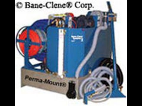 How To Install Bane Clene Truckmount Carpet Cleaning Equipment Into Van