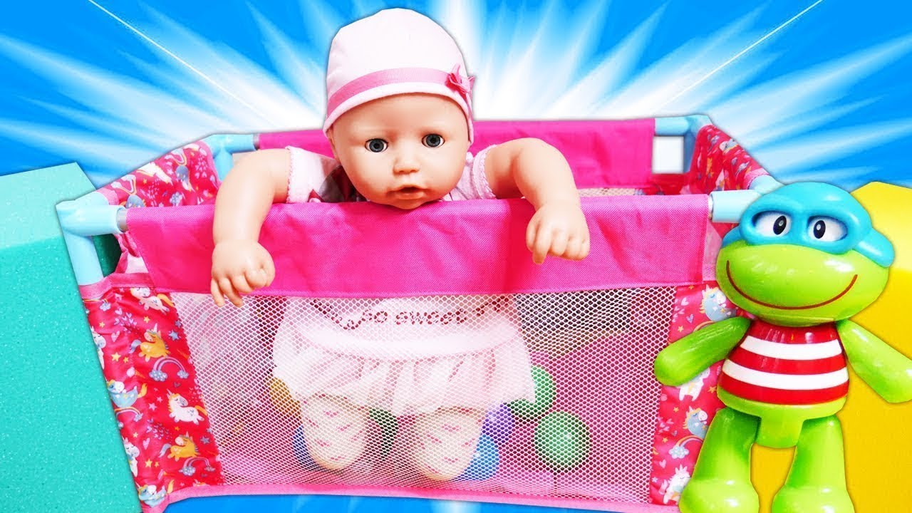 Baby Alive Doll Pen A Play Pen For Baby Annabell Doll Baby Alive Doll