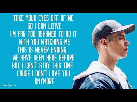 Adele - Love In The Dark / Lyrics (Leroy Sanchez Cover)
