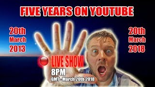 China guitar sceptic - 5 years on YouTube (Live Stream)