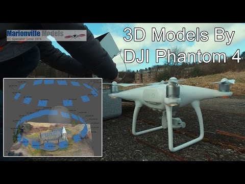 Creating 3D Model with Phantom 4, Photogrammetry Mapping. Agisoft PhotoScan