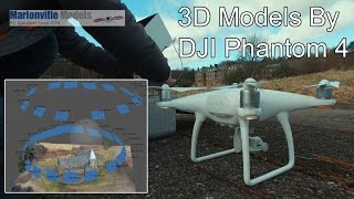 Creating 3D Model with Phantom 4, Photogrammetry Mapping. Agisoft PhotoScan