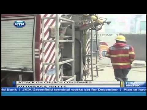 Skirmishes in Mombasa following the killing of a cleric
