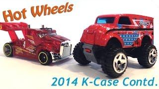 Hot Wheels 2014 K-Case Contd. Fantasy Models Cracking, Monster Dairy Delivery