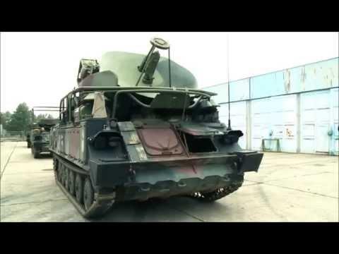 A Magyar Honvédség KUB 2K12M harcjárművei / The Hungarian Defence Force's KUB air defence system