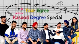 Yaar Jigree Kasooti Degree Special Interview | Connect FM Canada