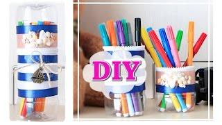 DIY: PENCIL CASE / Как сделать пенал из бутылок/ #BacktoSchool / NataliDoma