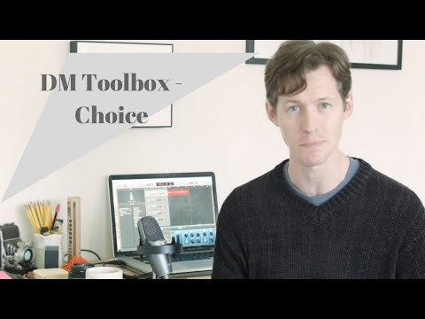 Dungeons and Dragons DM Toolbox  Choice