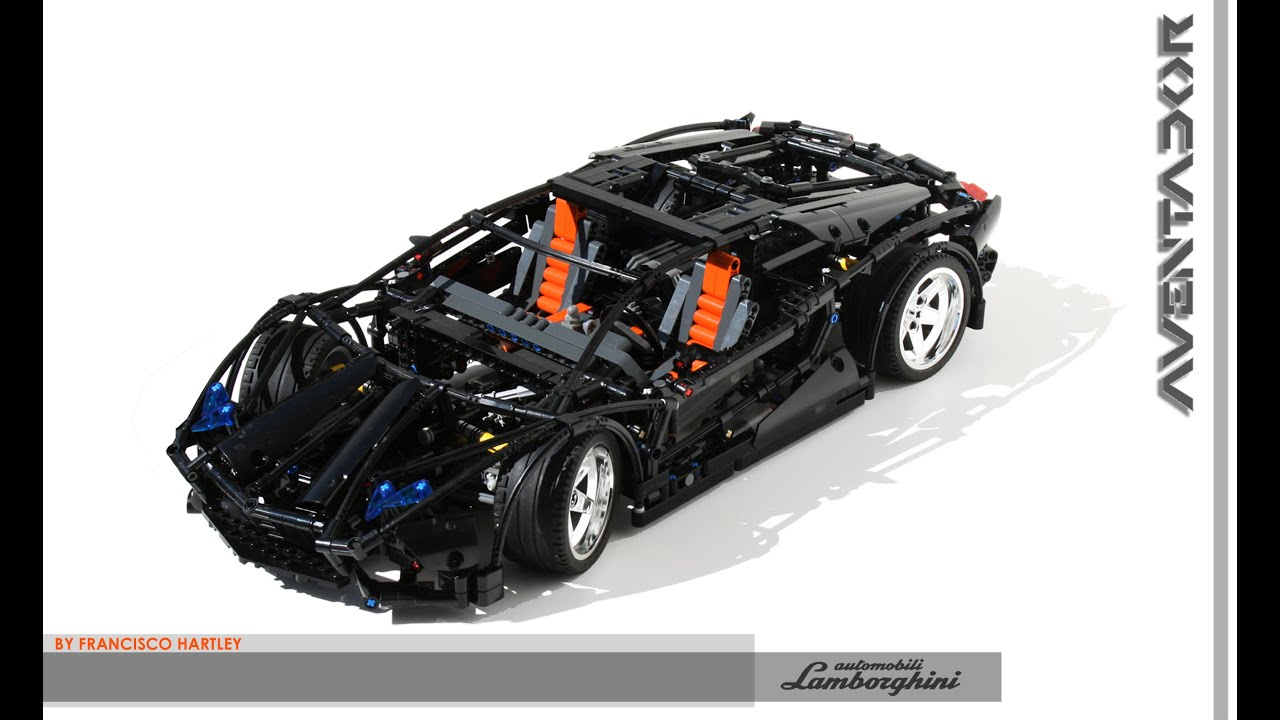 Image Result For How To Make A Lego Lamborghini Aventador